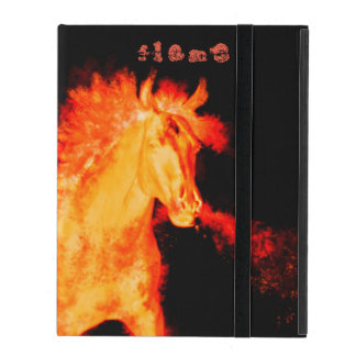 horse collection. fire iPad folio case