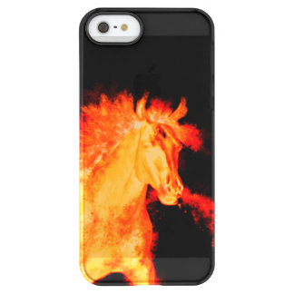 horse collection. fire permafrost® iPhone SE/5/5s case