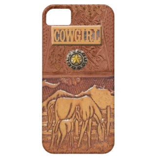 """Horse & Colt"" Western Cowgirl IPhone 5 Case"