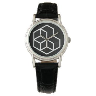 Horse (-) / Custom Classic Black Leather Watch