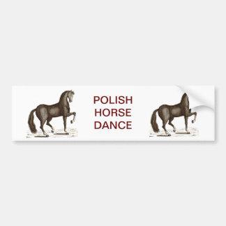 Horse Dance - DANCING HORSE Car Bumper Sticker