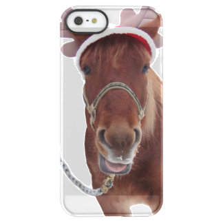 Horse deer - christmas horse - funny horse permafrost® iPhone SE/5/5s case