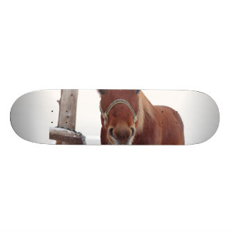 Horse deer - christmas horse - funny horse skate board