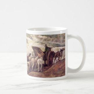 Horse-Drawn By Daumier Honoré Mug
