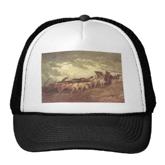 Horse drawn by Honore Daumier Cap