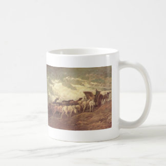 Horse drawn by Honore Daumier Mug