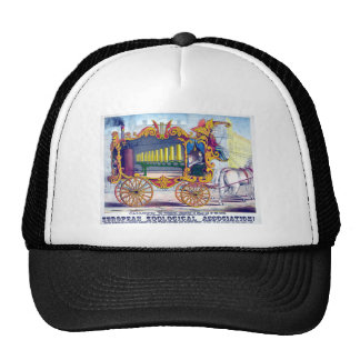 Horse Drawn Calliope Musical Instrument! Hat