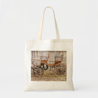 Horse Drawn Carriage Coach Surrey Gifts Canvas Bag