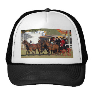 Horse Drawn Carriage Trucker Hats