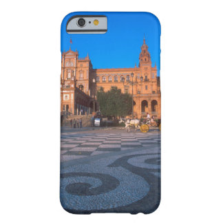 Horse drawn carriage in the Plaza de Espana in Barely There iPhone 6 Case