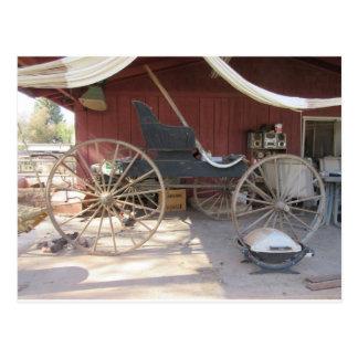 Horse Drawn Carriage Postcard
