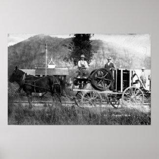 Horse Drawn Cart Print