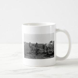 Horse-Drawn Corn Planter, 1940 Coffee Mugs