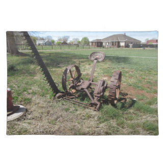 Horse Drawn Mower Place Mats
