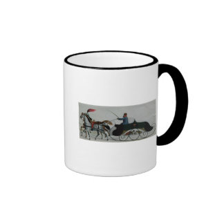 Horse Drawn Sleigh Coffee Mug