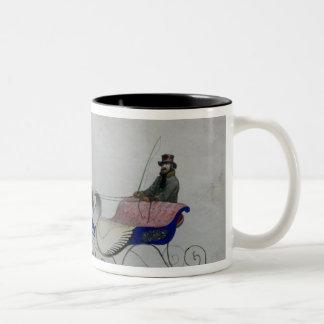 Horse Drawn Sleigh Mugs