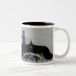 Horse Drawn Sleigh Coffee Mugs