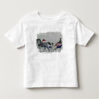 Horse Drawn Sleigh Toddler T-Shirt
