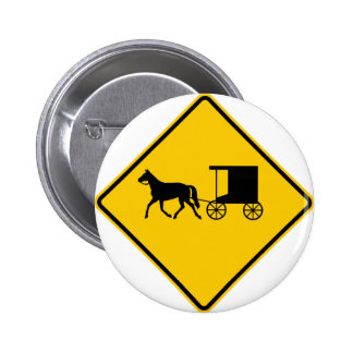 Horse-drawn Vehicle Traffic Highway Sign Buttons