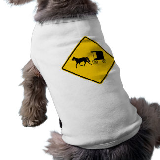 Horse-drawn Vehicle Traffic Highway Sign Dog Clothing