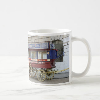 Horse drawn vintage bus, London Mug