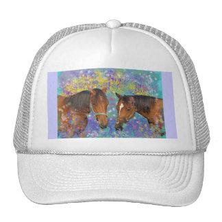 Horse Dream Fantasy Starring Two Dreamy Horses Cap