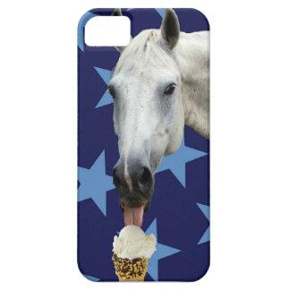 Horse Eating Ice Cream iPhone 5 Cases