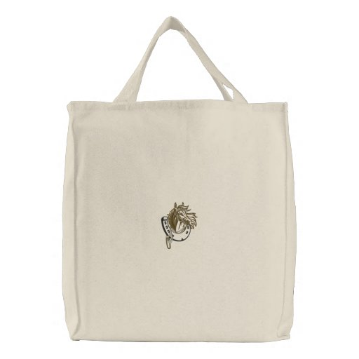 Horse Embroidered Bag