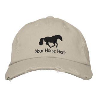 Horse Embroidered Hat