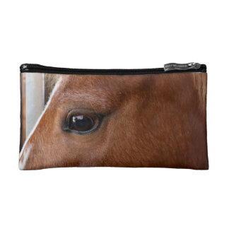 Horse eye cosmetic bag