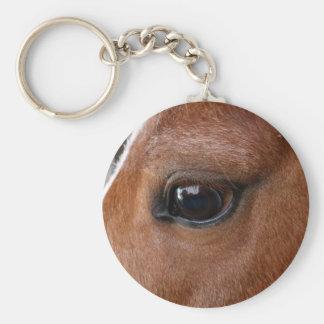 Horse Eye Key Ring