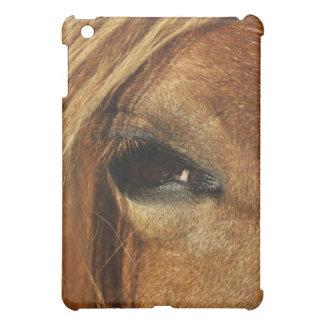 Horse eye photo iPad mini cover