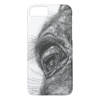 Horse Eye Reflection Closeup iPhone 8/7 Case