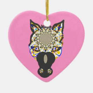 Horse Face Ornaments