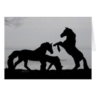 Horse Family Design - Mother's Day Card - jjhelene