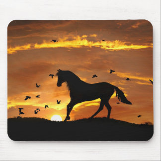 Horse Fantasy Mouse Pad