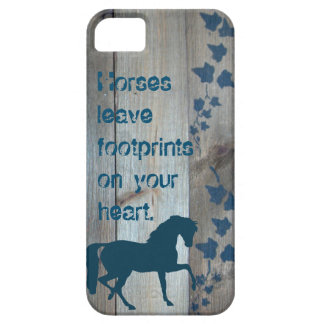 Horse Footprints Case For The iPhone 5