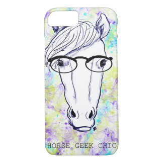 Horse Geek Chic iPhone 7 Case