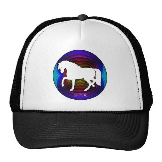 HORSE GIFTS CUSTOMIZABLE PRODUCTS TRUCKER HAT