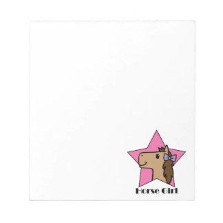 Horse Girl Notepad