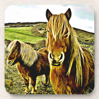 Horse Graphic Coasters - set of 6