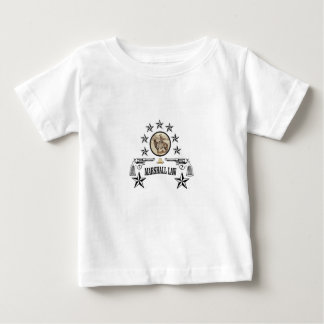 horse guns and marshal law baby T-Shirt