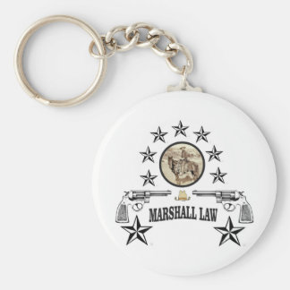 horse guns and marshal law key ring