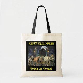 Horse Halloween Tote Bag