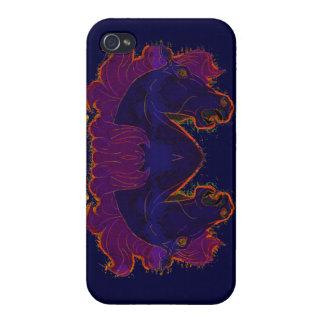 Horse Head, Animal-lover, Horse-lover Artwork iPhone 4/4S Cases