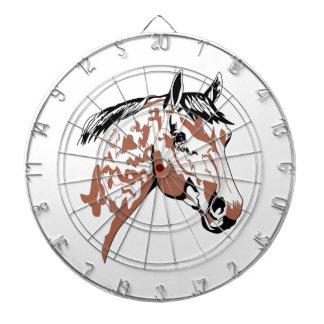 Horse Head Profile Dart Board