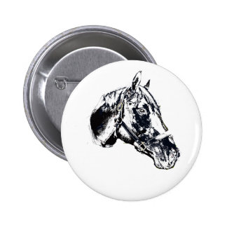 horse head stamp style pins