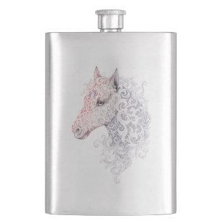 Horse Head Tattoo Classic Flask