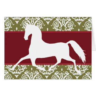 Horse Holiday Christmas Card