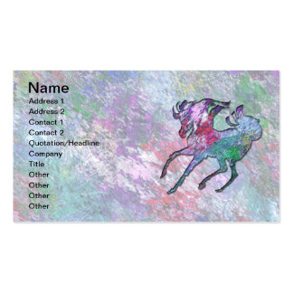 HORSE HOOFBEATS PACK OF STANDARD BUSINESS CARDS